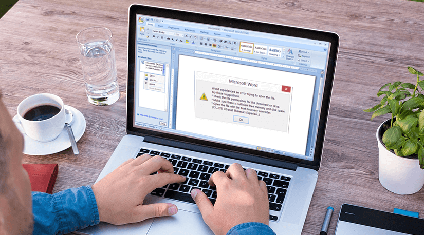 how to recover word documents from another computer