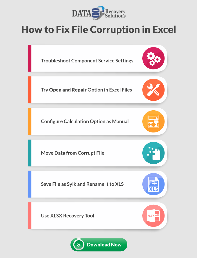 6 Ways to Fix Corrupt Excel XLS/XLSX Documents