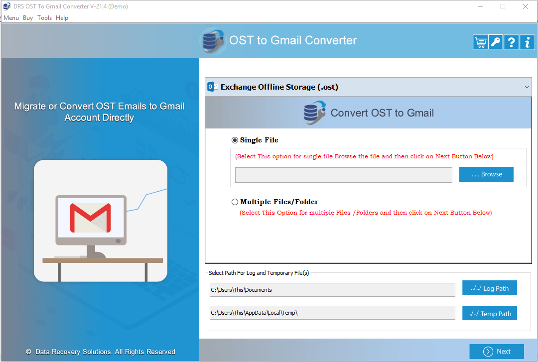 ost to gmail, ost to gmail converter, convert ost to gmail, import ost to gmail, migrate outlook ost to gmail, import ost file to gmail