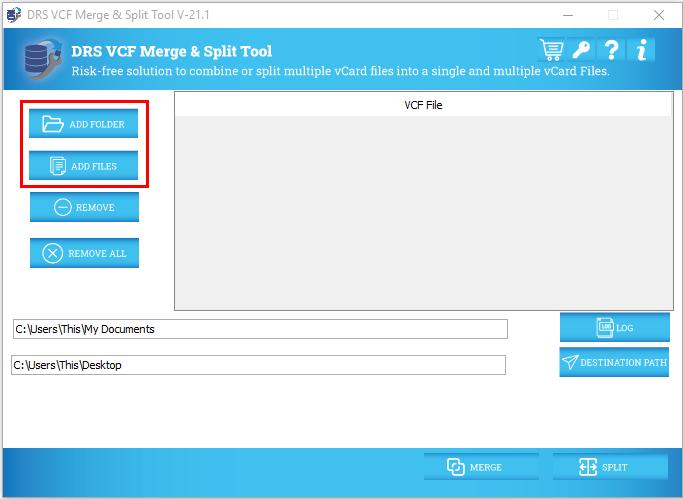 VCF Split and Merge Tool
