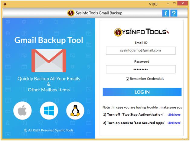 Windows 7 Gmail Converter Software 19.0 full