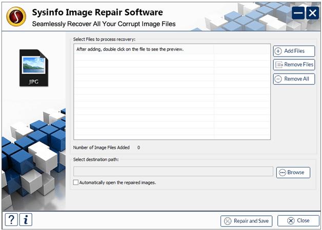 Image Recovery Software, Image Recovery Tool, Repair JPEG files, Repair PNG Files, Repair Corrupt Image Files, Fix Image Error, Image Repair Tool, Repair Image Software, JPEG File Recovery