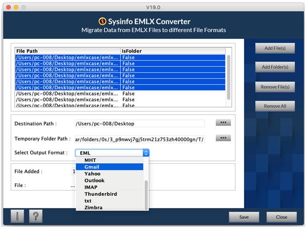 Free EMLX File Converter to Import EMLX to Thunderbird