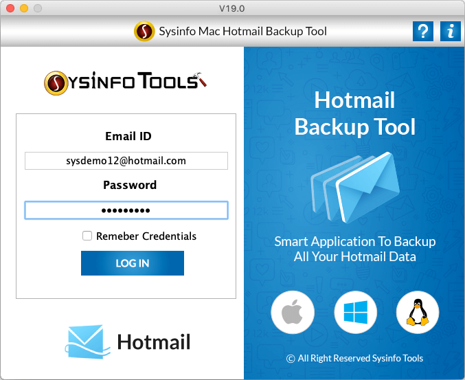 Hotmail Email Extractor for Win & Mac to Export Hotmail