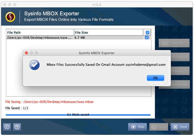 MBOX File Converter to Export and Migrate MBOX Files to PST
