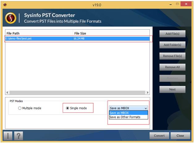 Windows 7 Outlook PST File Converter 19.0 full