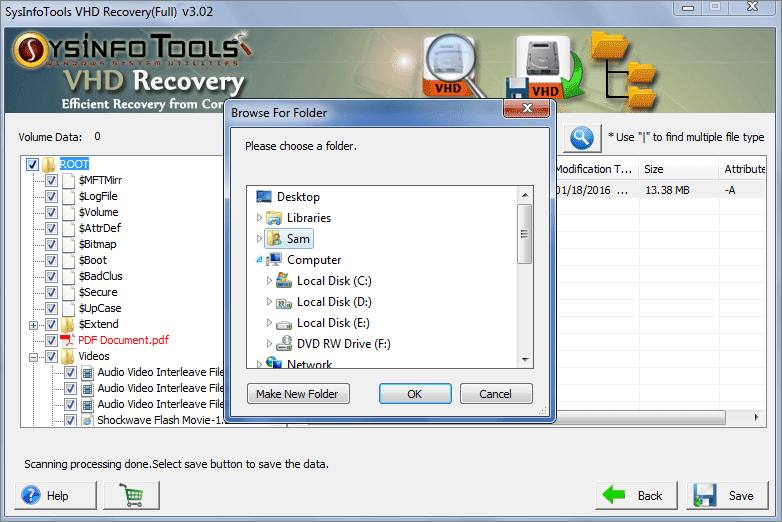 Data Recovery Solutions VHD Recovery