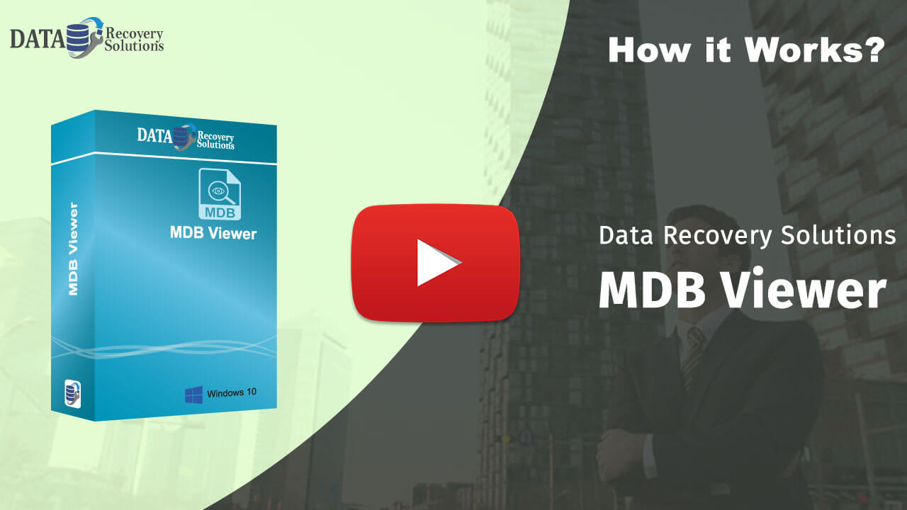 Data Recovery Solutions MDB Viewer