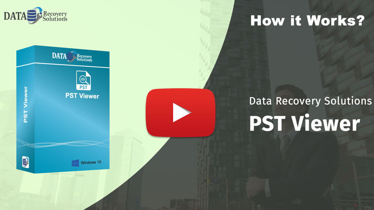 Data Recovery Solutions PST Viewer